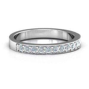 Classic Half Eternity Ring