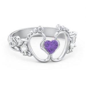 Bundle Of Joy Baby Foot Ring