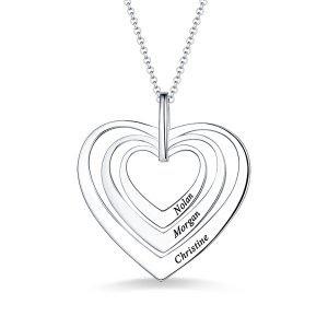 Family Hearts necklace